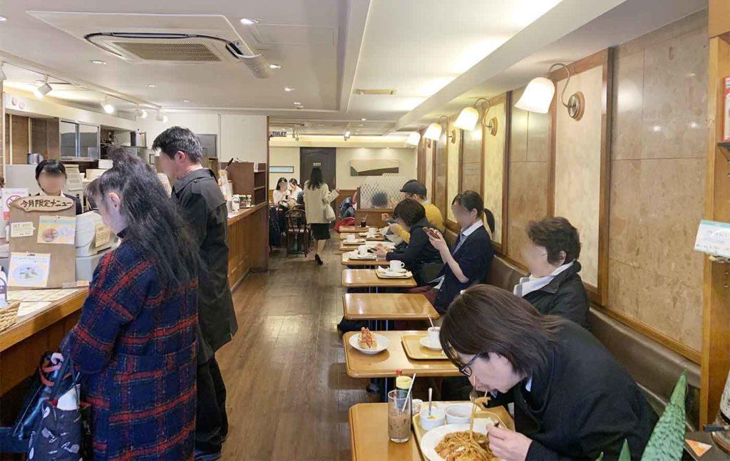 東京note,神楽坂,カフェ,コパン,シュークリーム,店内