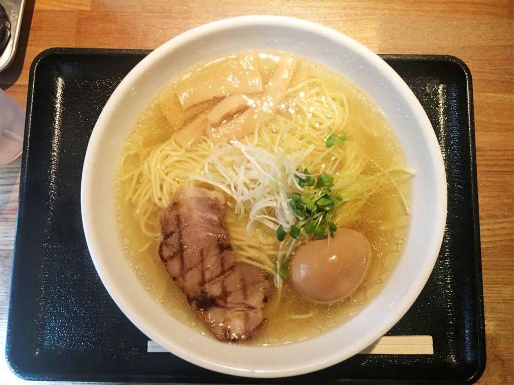 新宿,神楽坂,ラーメン,ふぅふぅ亭,塩,味噌