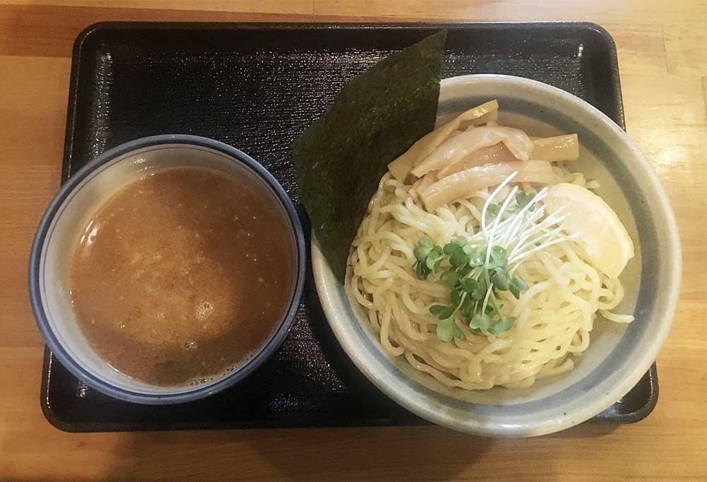 新宿,神楽坂,ラーメン,ふぅふぅ亭,塩,つけめん