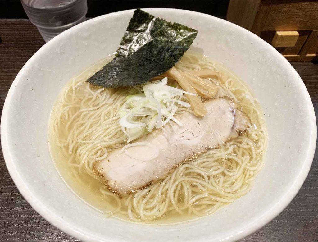 東京note,神楽坂,ラーメン,きみの,塩,醤油,おすすめ