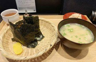 東京,神楽坂,和食,むすびや,おむすび,店内,セット
