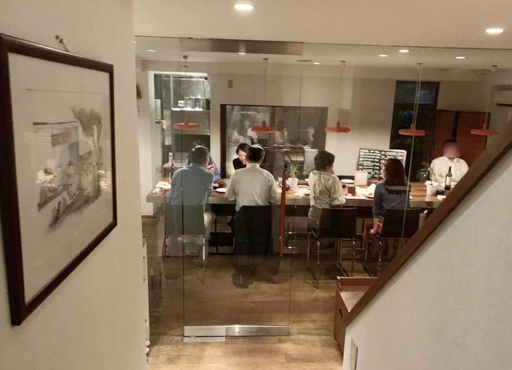 東京,神楽坂,イタリアン,アルボール,一軒家,2階