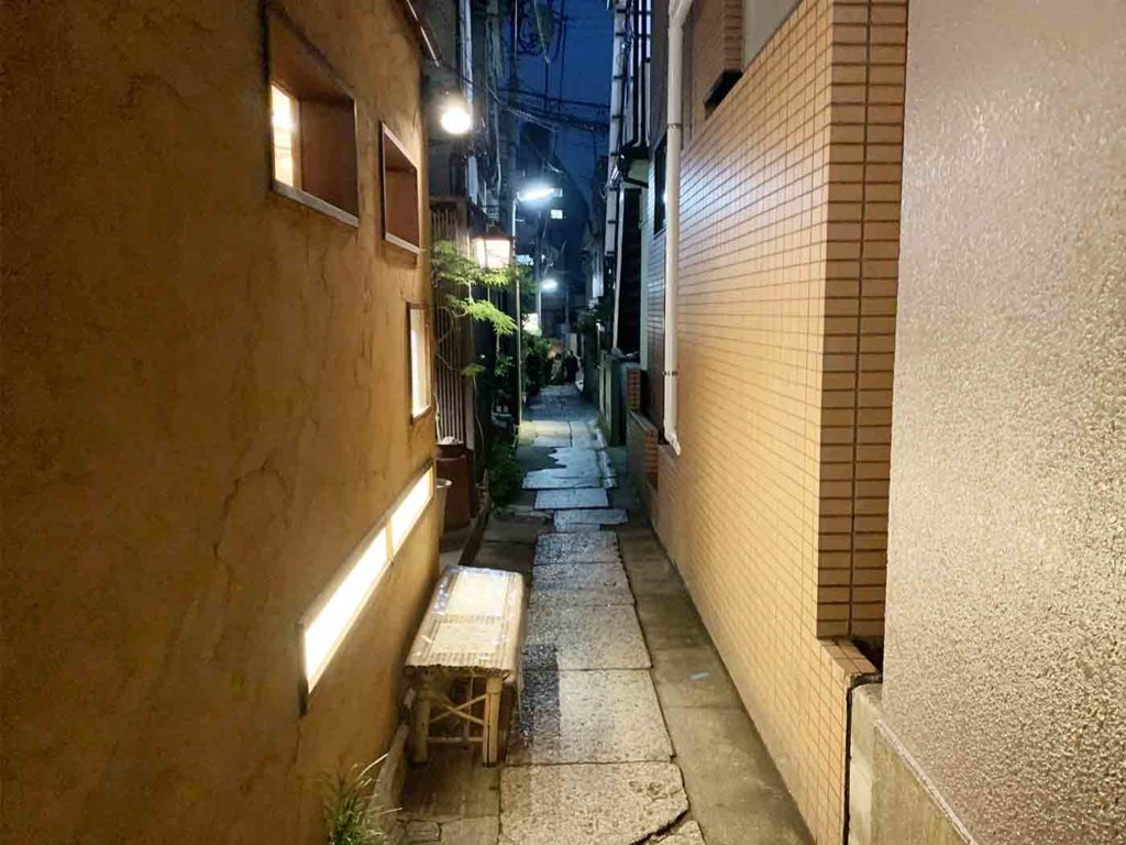 東京,神楽坂,イタリアン,アルボール,一軒家,行き方