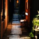 この狭い風情あふれる「兵庫横丁」は、知る人ぞ知る名店が勢揃い