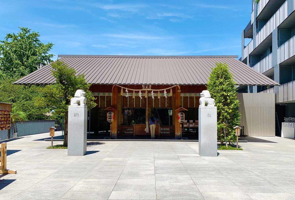 東京,神楽坂,飯田橋,デート,コース,交差点,赤城神社
