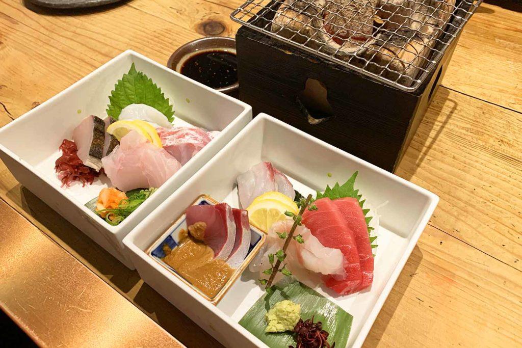 神楽坂,和食,魚介,魚,刺身,日本酒,デート,宴会