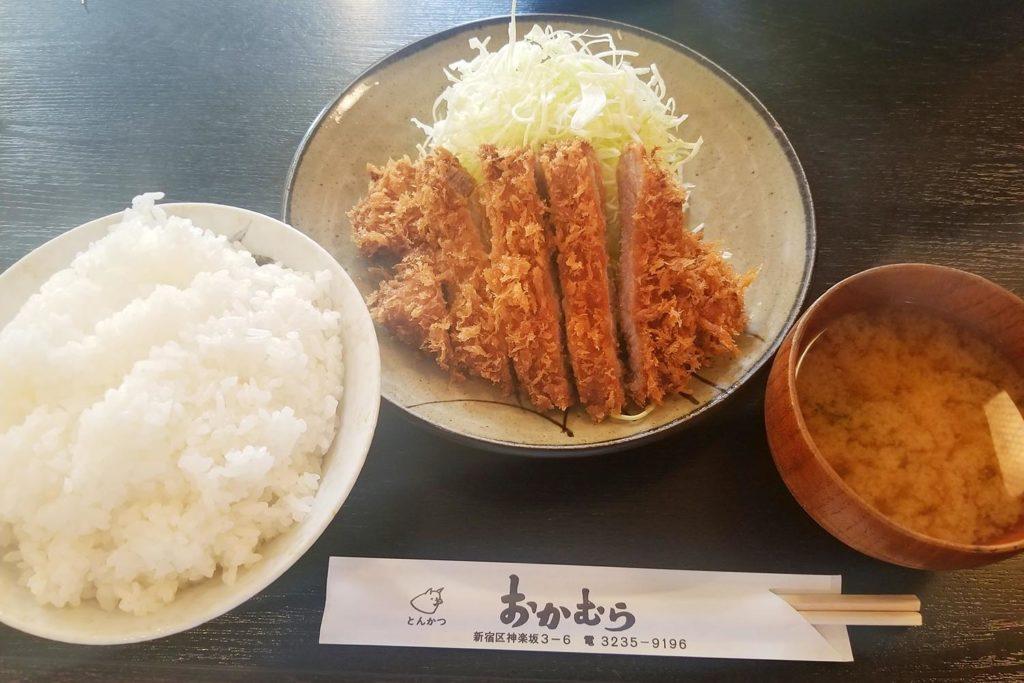 神楽坂,新宿,飯田橋,とんかつ,ランチ,定食,ディナー