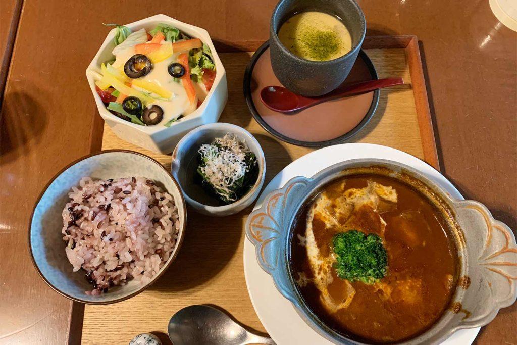 東京,神楽坂,飯田橋,和食,ランチ,和らく,お洒落,おすすめ,シチュー