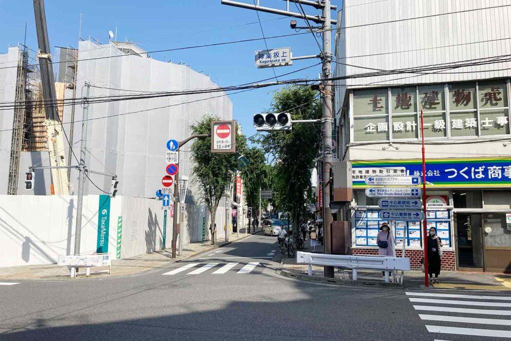 東京,神楽坂,カフェ,whynot,コーヒー,スタンド,アクセス
