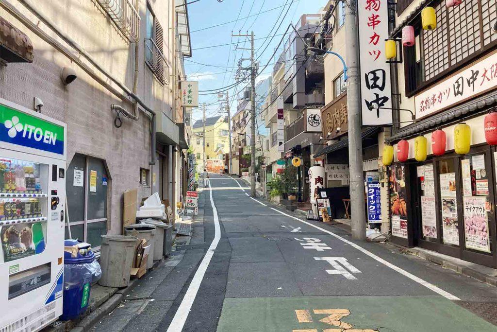 東京,神楽坂,カフェ,whynot,コーヒー,スタンド,アクセス,地蔵坂