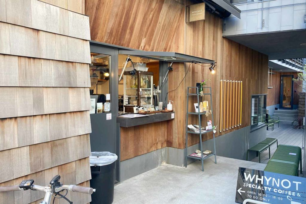 東京,神楽坂,カフェ,whynot,コーヒー,スタンド,スタイリッシュ