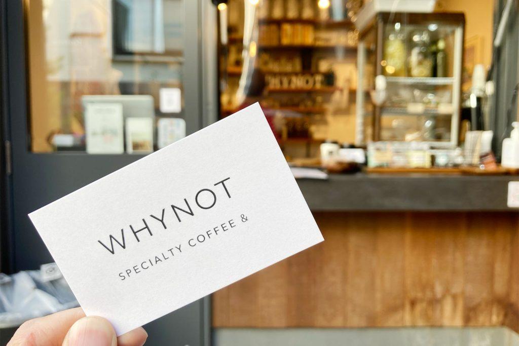東京,神楽坂,カフェ,whynot,コーヒー,スタンド,カード