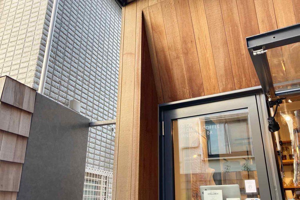 東京,神楽坂,カフェ,whynot,コーヒー,スタンド,お洒落