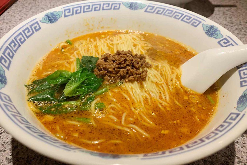 東京,神楽坂,梅香,担々麺,中華,美味しい,ランチ,行列