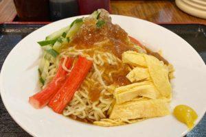 神楽坂,中華,台北101,冷やし中華,冷麺