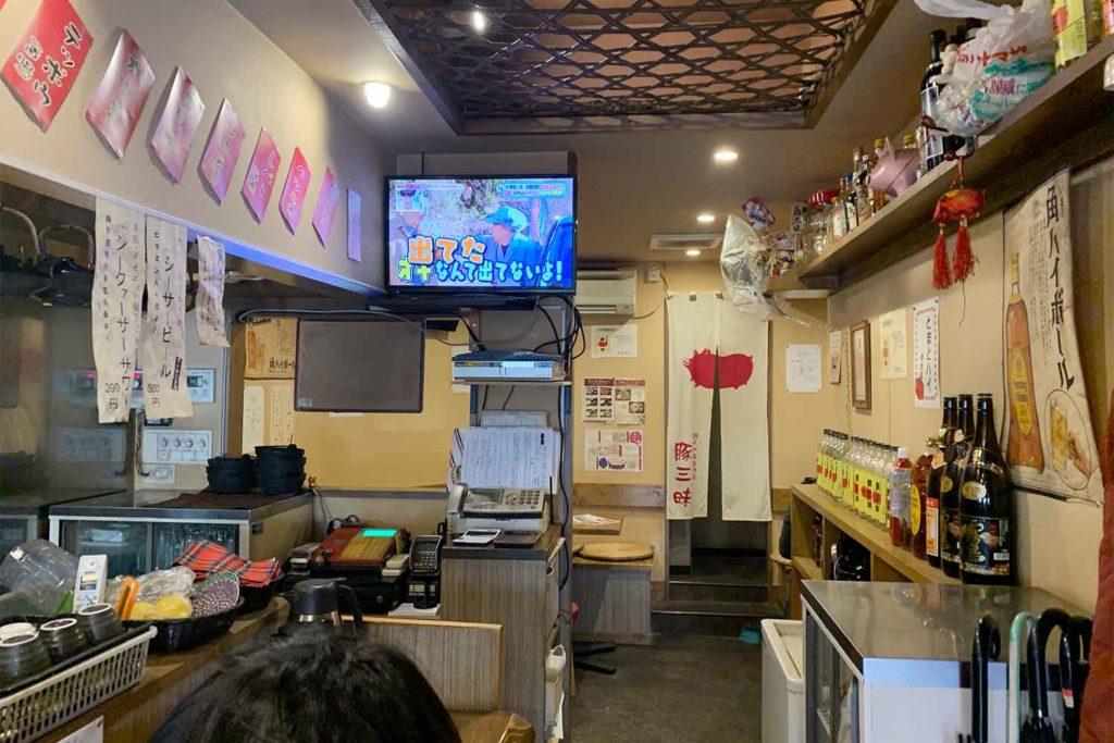 神楽坂,牛込神楽坂,東京,豚三昧,豚肉,美味しい,おすすめ,安い,店内