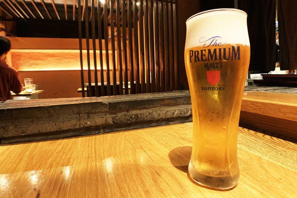 神楽坂,焼き鳥,デート,炭寅,飯田橋,ビール