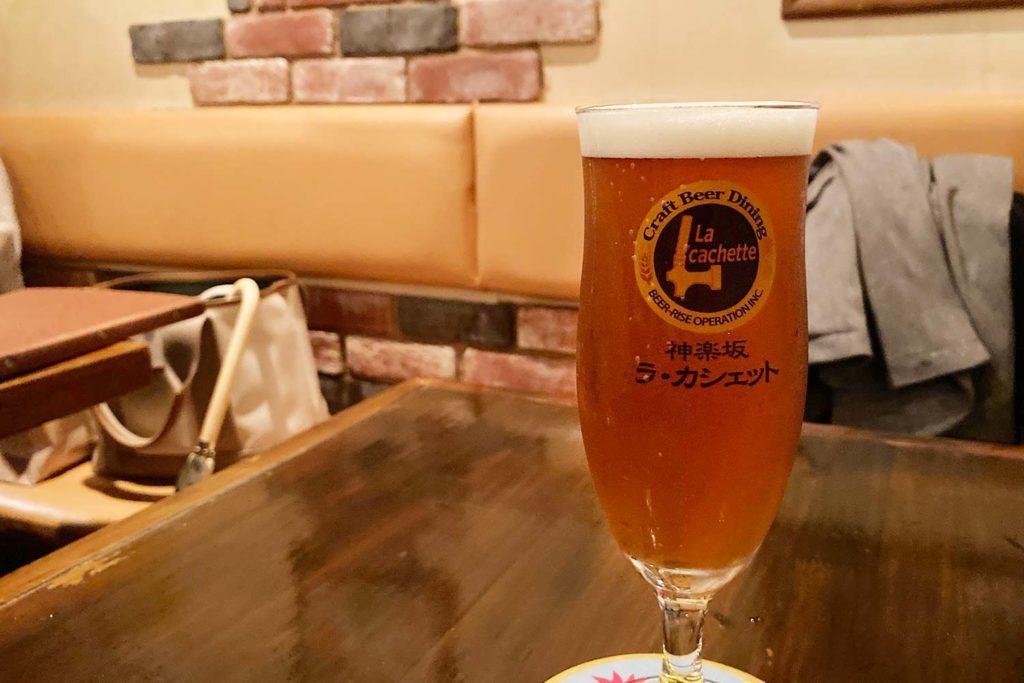 神楽坂,飯田橋,ビール,クラフトビール,バー,ラ・カシェット,メニュー,美味しい