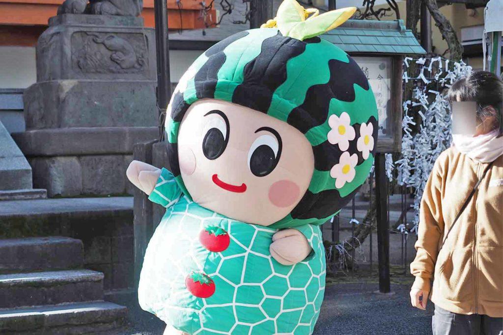 神楽坂,東京,つがる市,青森,物産市,毘沙門天,善國寺,つがーるちゃん