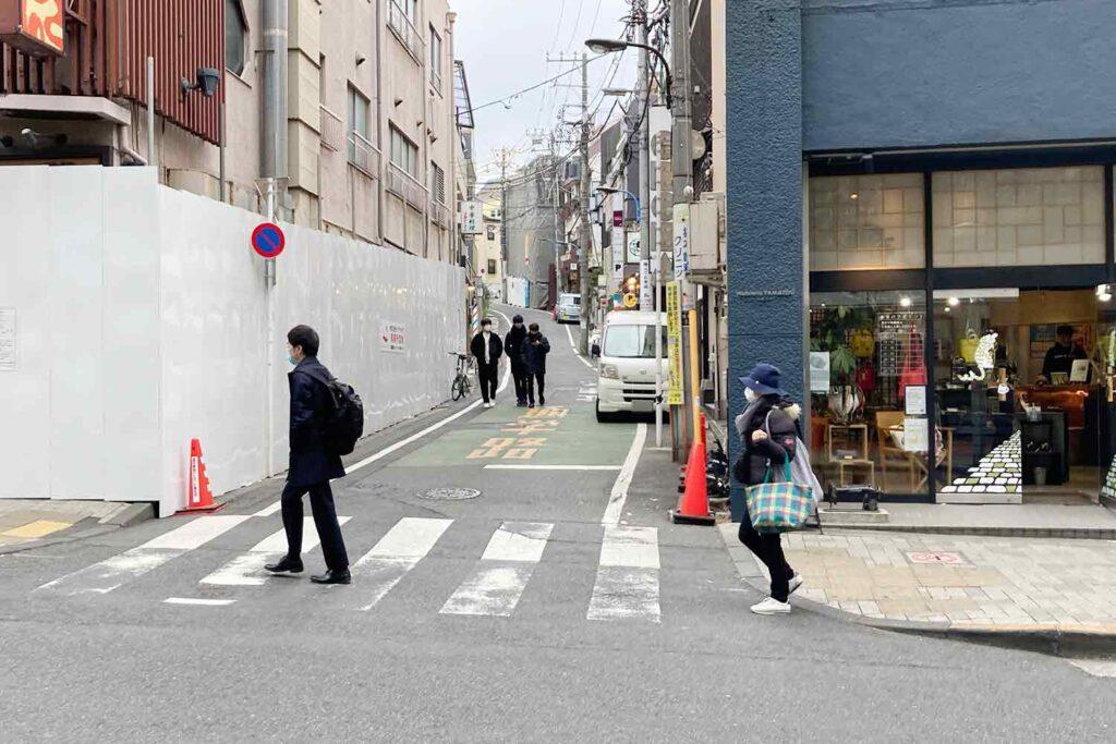 神楽坂,神楽坂通り,夏目漱石,地蔵坂