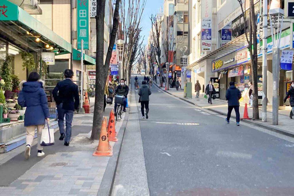 神楽坂,神楽坂通り,新宿,散策,ショッピング,飯田橋
