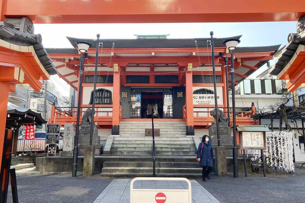 神楽坂,神楽坂通り,新宿,散策,ショッピング,善國寺