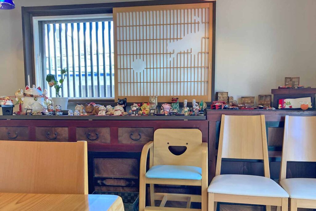 神楽坂,和食,うまもんや,福井,とんかつ,豚汁,若狭,店内