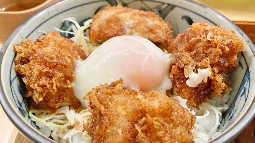 山せみ,神楽坂,蕎麦,和食,とんかつ,かつ丼,美味しい,福井,醤油かつ丼